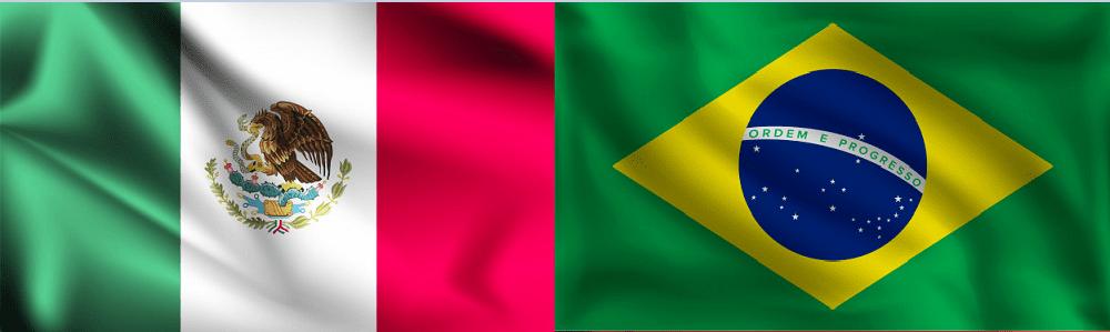 Cómo marcar de México a Brasil