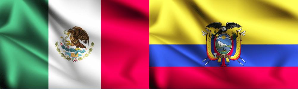 Cómo marcar de México a Ecuador