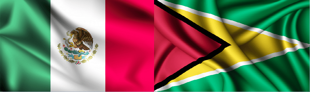 Cómo marcar de México a Guyana