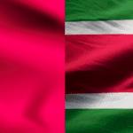 ¿Cómo marcar de México a Surinam?