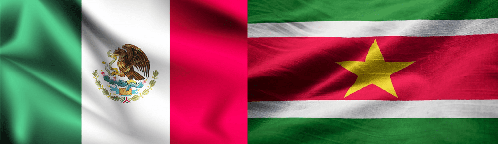 Cómo marcar de México a Surinam
