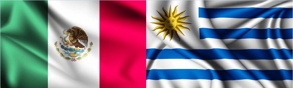 Cómo marcar de México a Uruguay