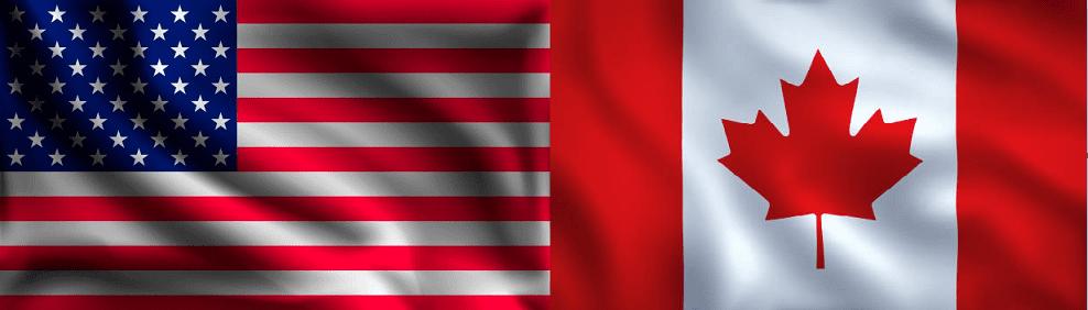 Como marcar de USA a Canadá